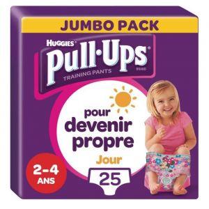 HUGGIES PULL UPS Culottes d'apprentissage pour fille - M/L - Jour