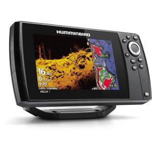 HUMMINBIRD Combiné GPS Sondeur HELIX 7 G3 HD CHIRP DS et MDI  , sonde TA