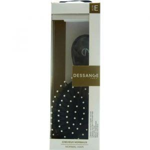 DESSANGE Brosse à cheveux Démêlante de sac pour Cheveux Normaux. Coloris noir ou blanc. Couleur aléatoire
