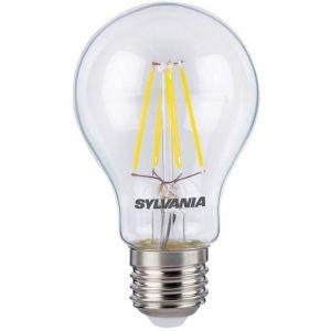 Led rétro standard effet filament E27 630 Lm