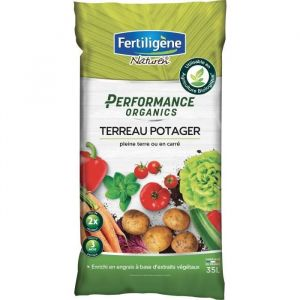 FERTILIGENE Terreau Performance Organics Potager - 35 L