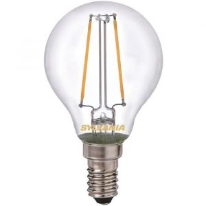 Led rétro sphérique filament E14 420 Lm - blanc très chaud