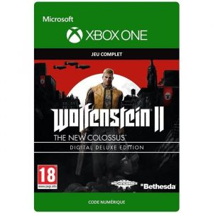 Wolfenstein II The New Colossus Edition Digital Deluxe Jeu Xbox One à télécharger