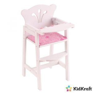 KIDKRAFT - Chaise haute pour poupées Lil' Doll