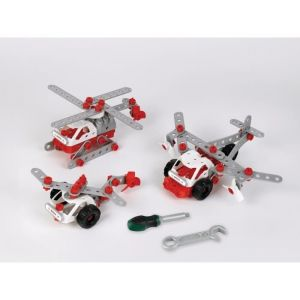 BOSCH Mini - Set de construction Helicopter Team 3-en-1