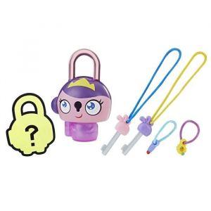 LOCK STARS Série 1 - Purple Princess - Collectionne tes Lock Stars et accroche-les pour personnaliser ton cartable, ta trousse, tes chaussures... ! - fille et garçon - à partir de 6 ans