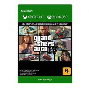 GTA IV Jeu Xbox One et Xbox 360 à télécharger
