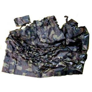 Filet de Camouflage 3 X 1,4 m Standard - Filet de camouflage standard en polyester - Noir - Taille : 3 x 1,40 m.