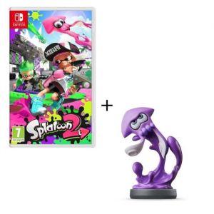 Splatoon 2 Jeu Switch + Amiibo Calamar Inkling violet