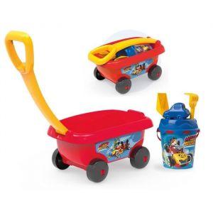 MICKEY Smoby Chariot De Plage Garni - Disney