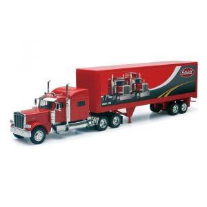 NEW RAY  Camion PETERBILT Conteneur - Miniature - 1/32° - 55 cm  10223