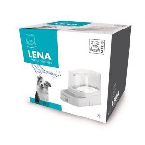 MPETS Distributeur d'eau LENA - Pour chien - 3000ml - Blanc
