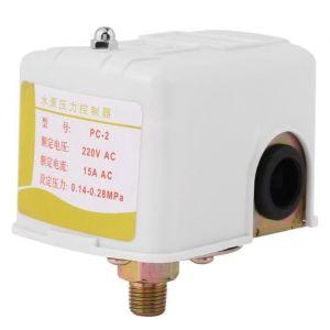 Commutateur de pression, pièces de pompe à eau de puits Commande de pressostat de pressostat de pompe, réglable pour la pompe à