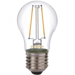 Led rétro sphérique filament 2.5W E27 250 Lm - blanc très chaud