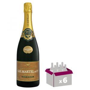 GH MARTEL 2002 Champagne Brut - Blanc de Blancs - 75 cl x 6