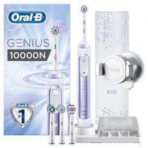 Oral-B Genius 10000N Brosse à dents électrique par BRAUN - Violet