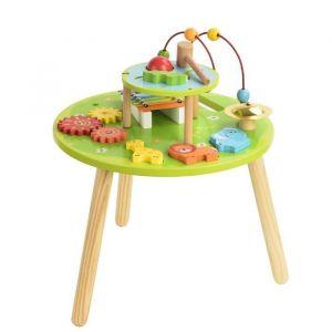 COLORICHY - Table d'activités en bois pour enfant