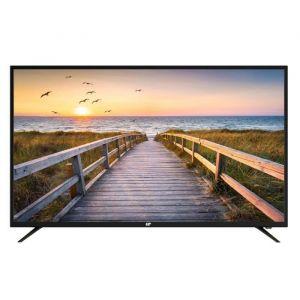 CONTINENTAL EDISON TV LED 50' (125,7 cm) 4K Ultra HD 3xHDMI 2x USB Port optique 2x8 watts RMS