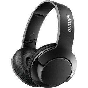 PHILIPS SHB3175BK/00 Casque Bluetooth avec technologie BASS+ - 12 heures d'autonomie - Noir