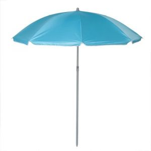 Parasol plage inclinable - Ø 160 cm - Turquoise