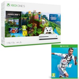 Xbox One S 1 To Minecraft + Fifa 19