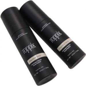 Toppik Spray Fixateur pour Poudre de cheveux densifiant kératine Fiber Hold Spray - Effet Épaississant.
