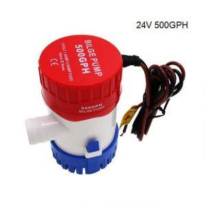 Pompe à eau de cale Marine, 1100gph, 750gph, 500gph, 350gph, interrupteur à flotteur, 12v, 24v, nouveau Design pour le [412A966]