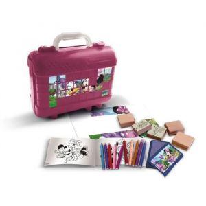 MINNIE Malette de timbres et dessins