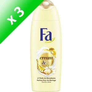 FA Douche Cream & Oil Moringa 250 ml (Lot de 3)