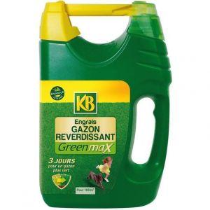 Greenmax engrais gazon reverdissant 100m2 /nc