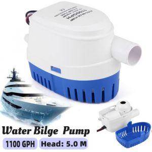 1100GPH bateau 12V Marine automatique submersible pompe à eau de cale interrupteur à flotteur entièrement automatique interne -WAN