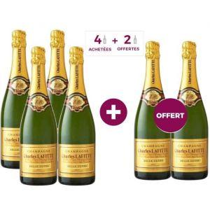 4 ACHETEES = 2 OFFERTS Champagne Charles Lafitte Belle Cuvée Brut