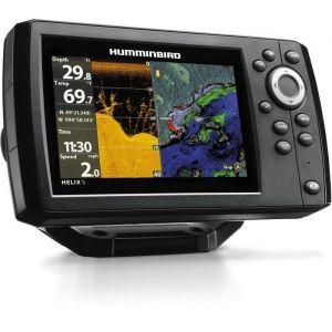 HUMMINBIRD Combiné GPS Sondeur HELIX 5 G2 HD DOWN IMAGING  - Sonde TA