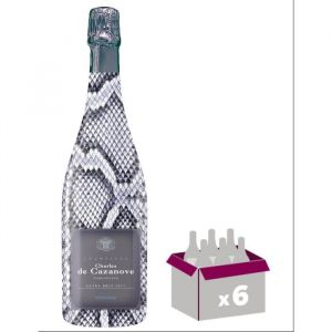 GH MARTEL De Cazanove Collection Sauvage Extra Champagne Brut - Blanc - 75 cl x 6