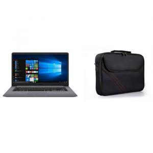 "ASUS PC portable S501UA-EJ1288T - 15"" FHD - 8 Go - i3 7020U - 128 Go SSD + 1 To HDD - Windows 10 + PORT DESIGNS Sacoche PC S15 - 15"" FHD - 8 Go - i3 7020U - 128 Go SSD + 1 To HDD - Windows 10 + PORT DESIGNS Sacoche PC S15"