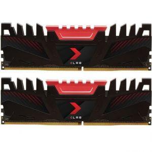PNY XLR8 - Mémoire PC RAM - 32Go (2 x 16Go) - 3200 MHz - DDR4 - CAS 16 (MD32GK2D4320016XR)
