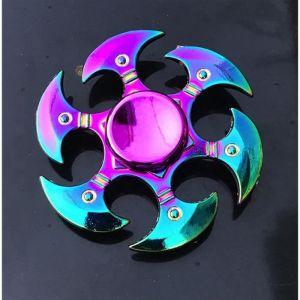 Hand Spinner métal Couleur Rainbow Arc en ciel (France en Stock ©)