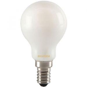 Led rétro sphérique filament satinée E14 400 Lm - blanc très chaud