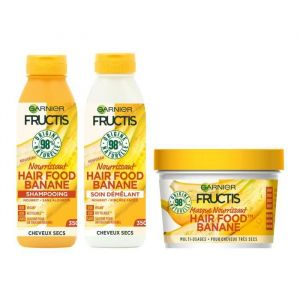 Fructis : Ma Routine Nutrition Cheveux Complète Hair Food Banane