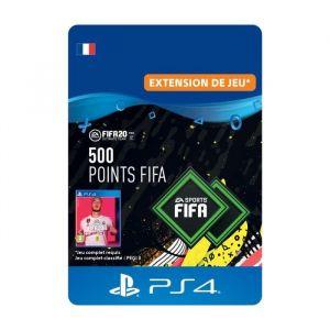 500 Points FIFA pour FIFA 20 Ultimate Team™ - Code de Téléchargement pour PS4