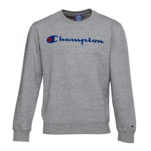 CHAMPION Sweatshirt col rond - Homme - Gris chiné