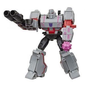 Transformers Bumblebee Cyberverse Adventures - Robot action Warrior Megatron - 13,7 cm - Jouet Transformable 2 en 1