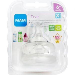 MAM Tétine X (Cross Cut)- Lot de 2