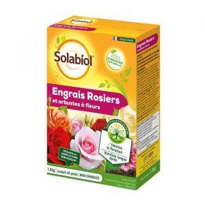SOLABIOL SOROSY15 Engrais Rosiers Et Arbustes A Fleurs - 1,5 Kg