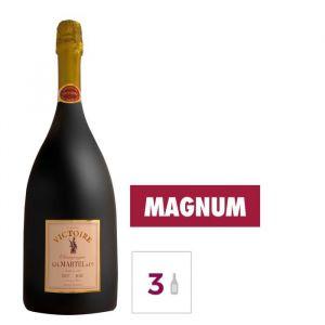 GH MARTEL Victoire Champagne Brut - Rosé - 1,5 l x 3