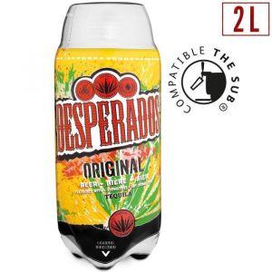 DESPERADOS Bière aromatisée tequila Original- 2 L
