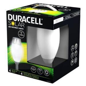 DURACELL - Bornes solaires ovales lot de 4