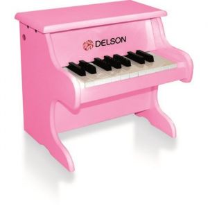 DELSON Piano bebe rose 18 touches
