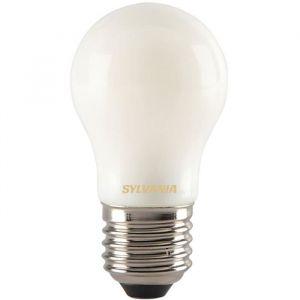 Led rétro sphérique filament satinée E27 400 Lm - blanc très chaud