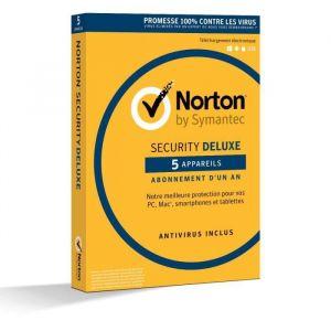 Anti-virus Norton Security 2018 Deluxe à télécharger - 5 appareils